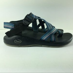 Chacos Y/2 Yampa Blue Weave Outdoor Thong Sandals